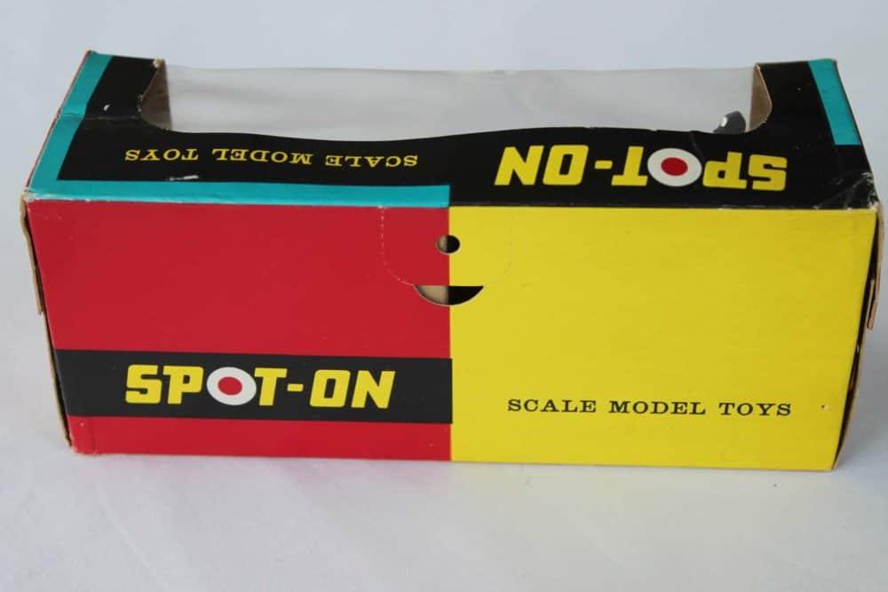 Spot-On Toys 281 Red MG MK 2 (Speeding)-boxback