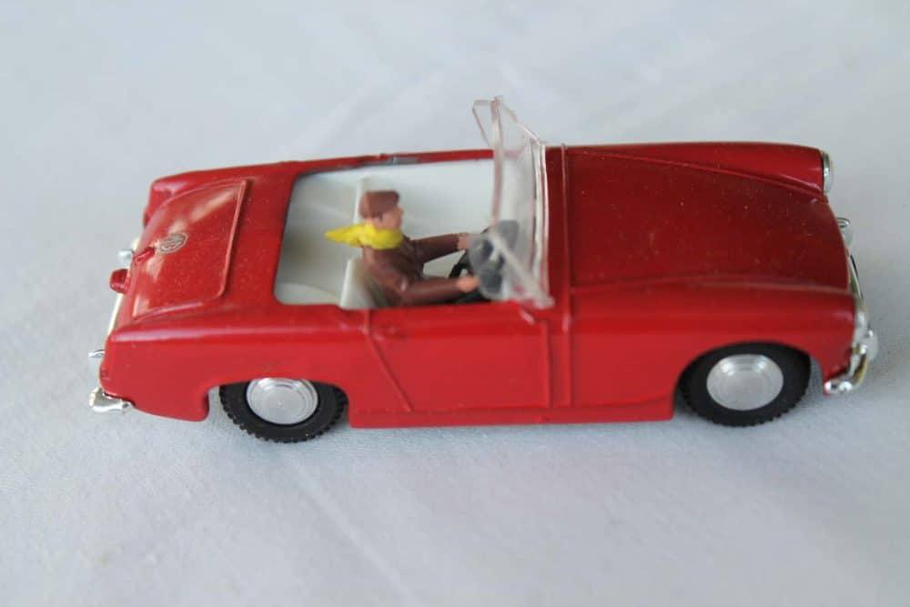 Spot-On Toys 281 Red MG MK 2 (Speeding)-right