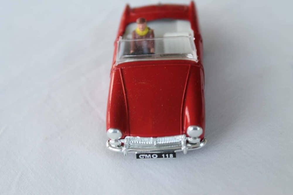 Spot-On Toys 281 Red MG MK 2 (Speeding)-front