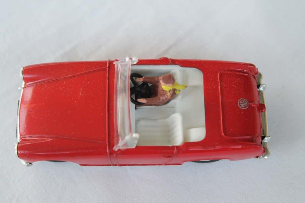 Spot-On Toys 281 Red MG MK 2 (Speeding)-top