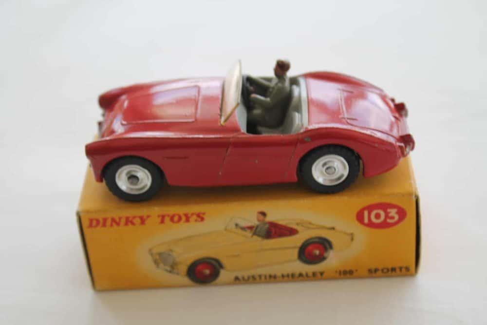 Dinky Toys 103 Austin Healey Tourer