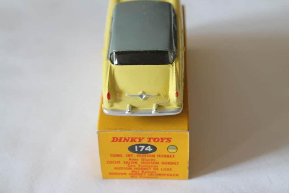 Dinky Toys 174 Hudson Hornet-back