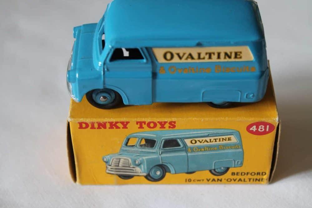 Dinky Toys 481 Bedford Ovaltine Van