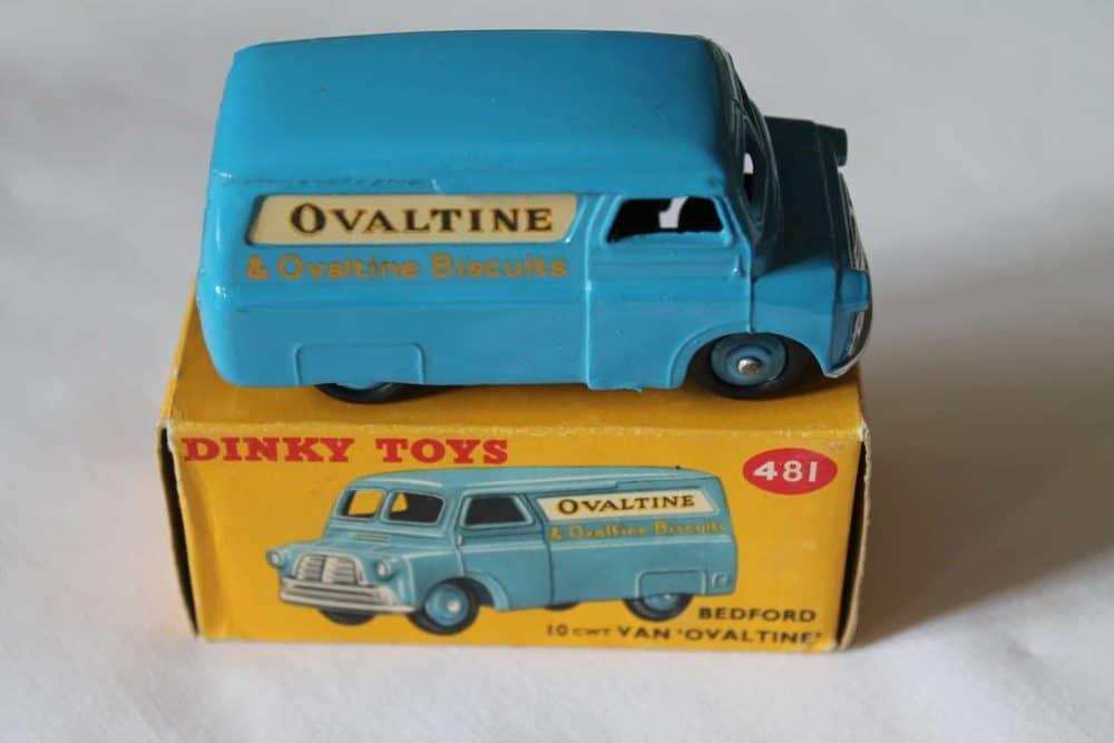 Dinky Toys 481 Bedford Ovaltine Van-side