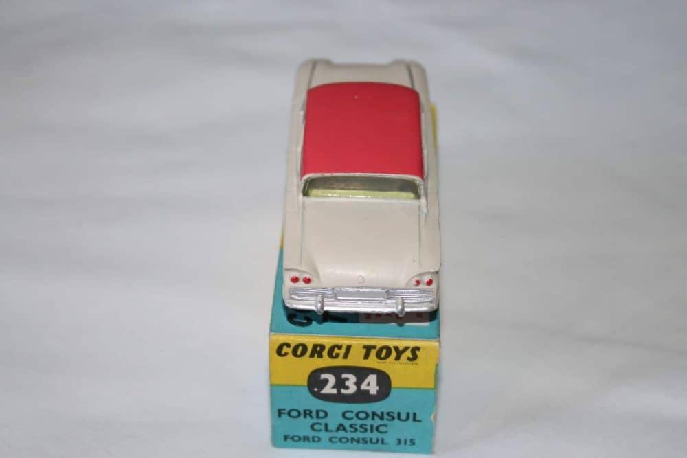 Corgi Toys 234 Ford Consul Classic-back