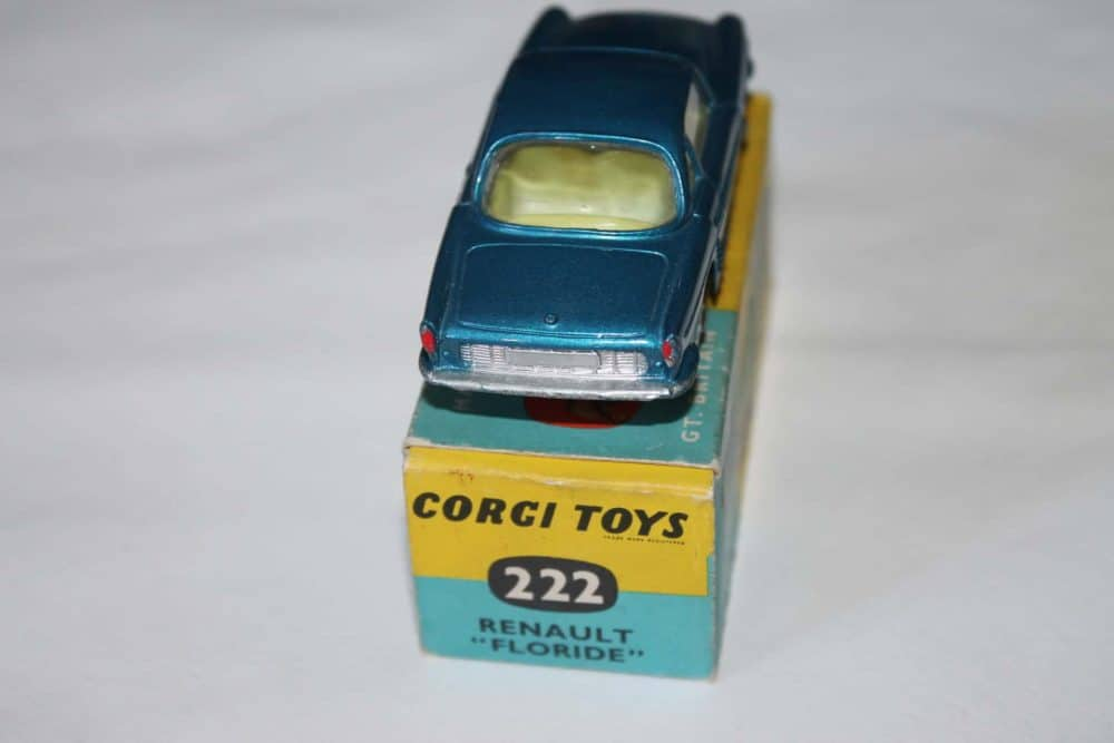Corgi Toys 222 Renault Floride-back
