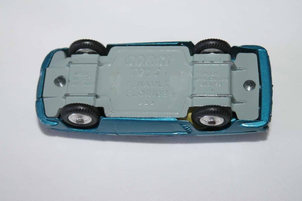 Corgi Toys 222 Renault Floride-base