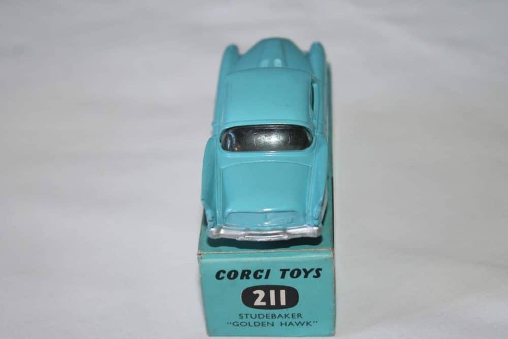 Corgi Toys 211 Studebaker Golden Hawk-back