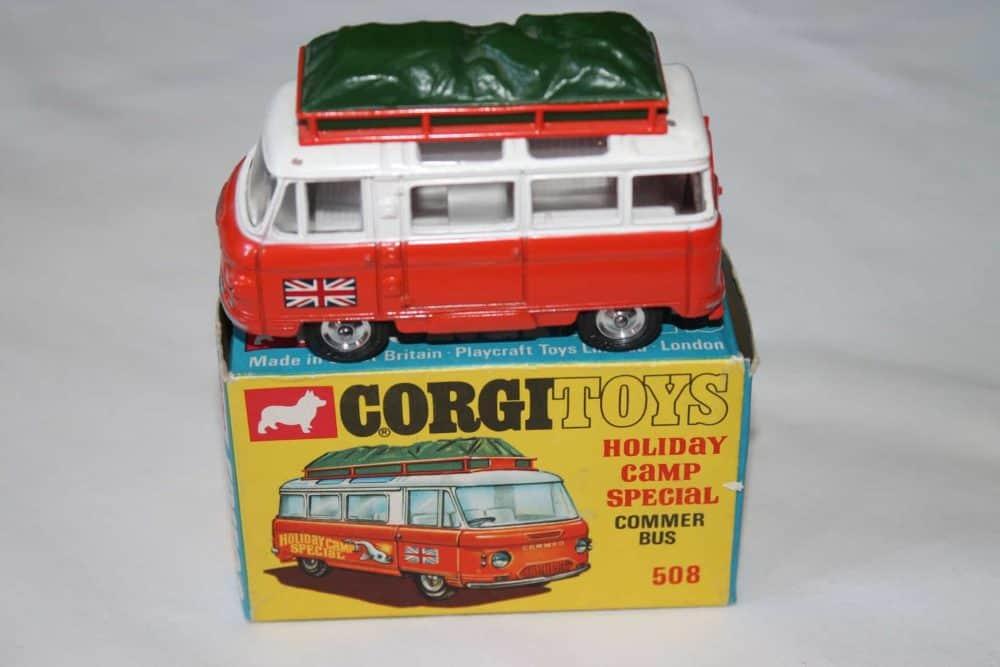 Corgi Toys 508 Commer Holiday Camp Bus