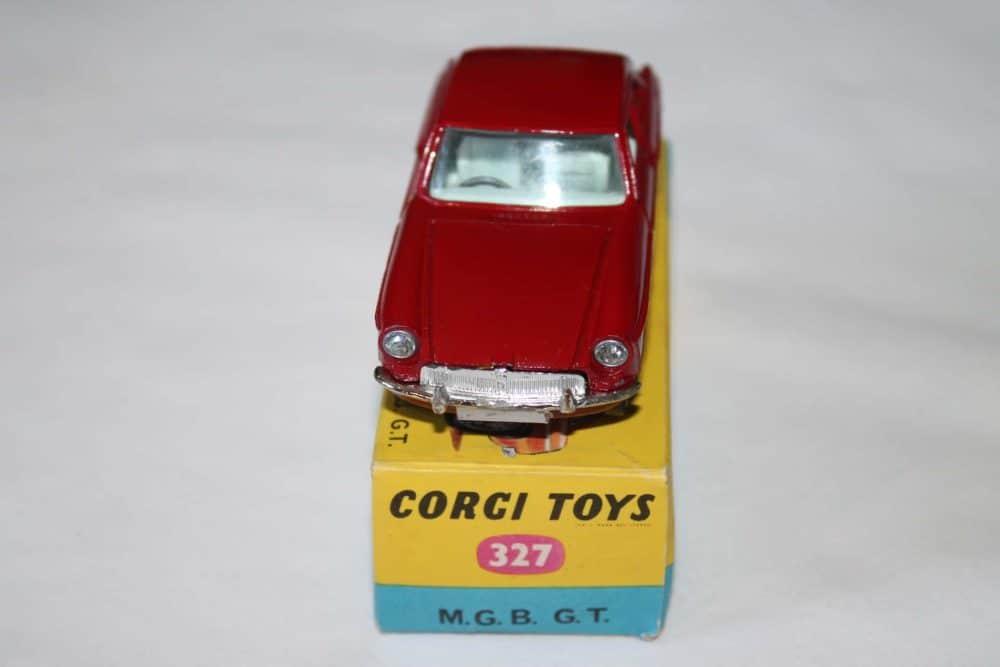 Corgi Toys 327 MGB G.T.-front