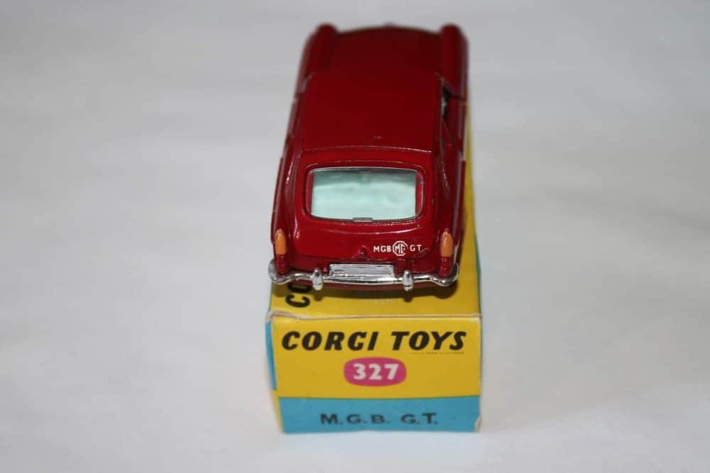 Corgi Toys 327 MGB G.T.-back