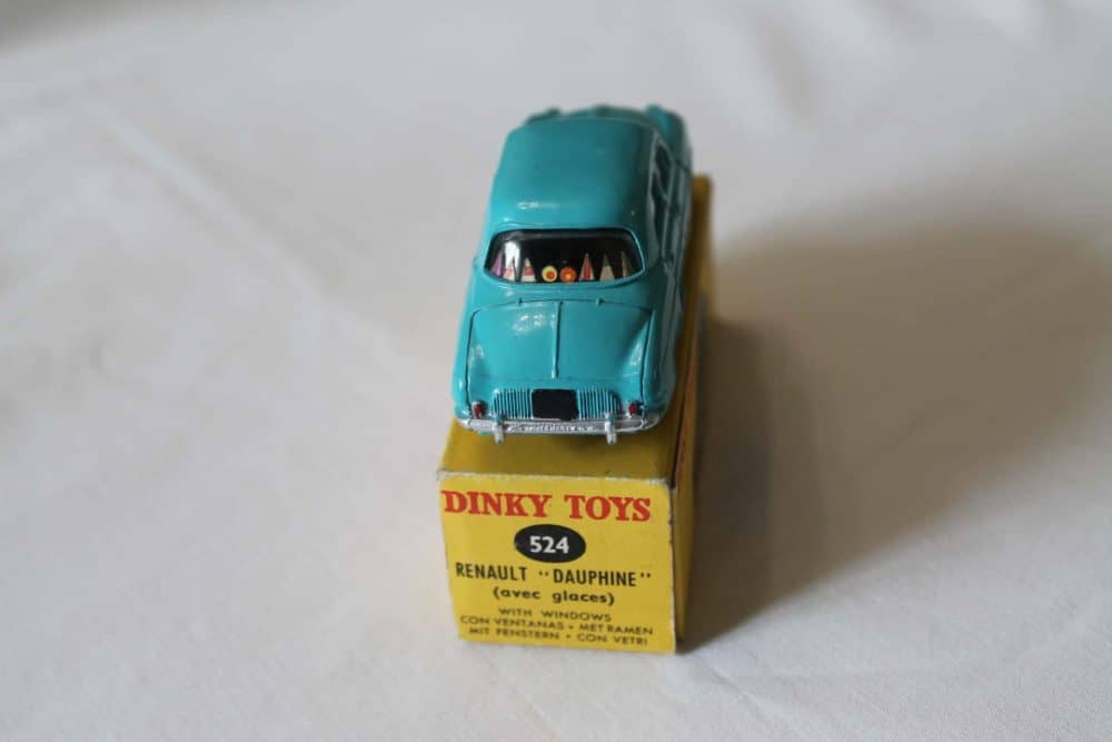 French Dinky Toys 524 Renault Dauphine-back