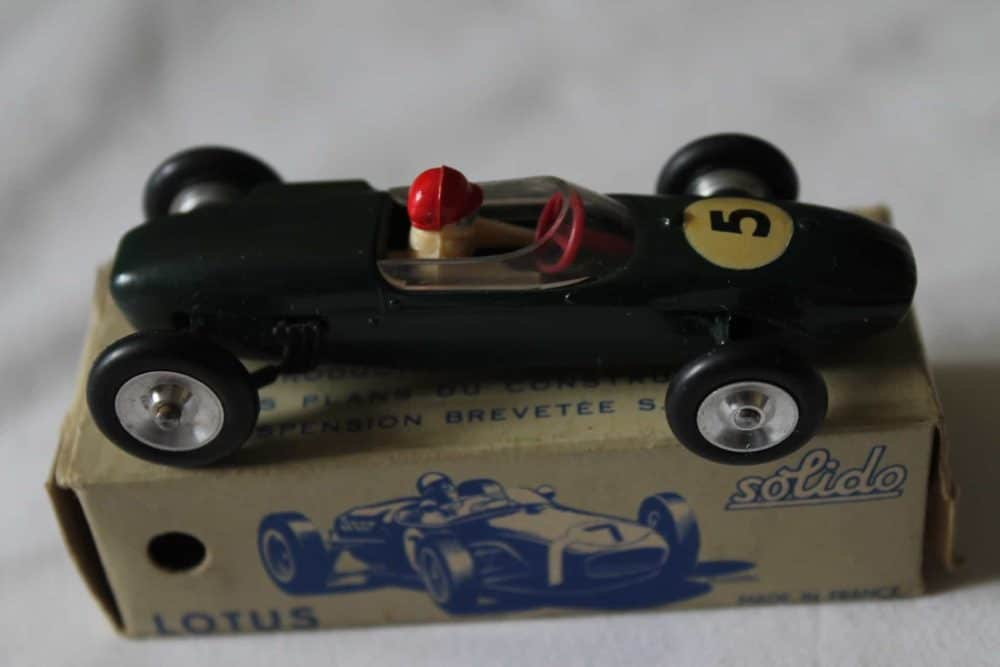 Solido Toys 118 Lotus F 1-side