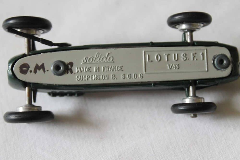 Solido Toys 118 Lotus F 1-base
