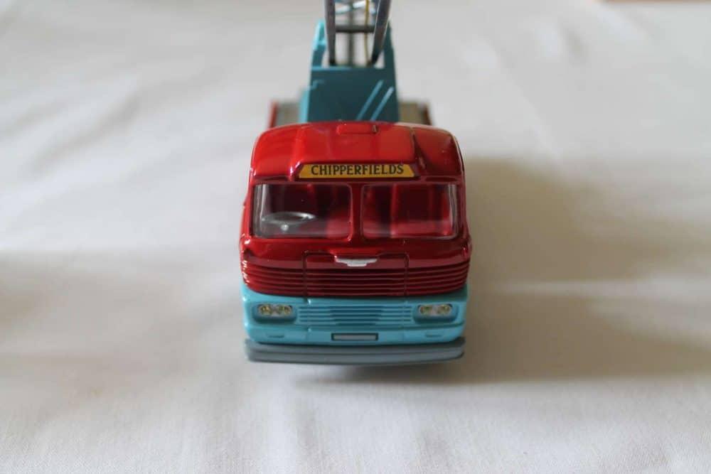 Corgi Toys 1144 Chipperfields Circus Crane Scammell Handyman Cab-front