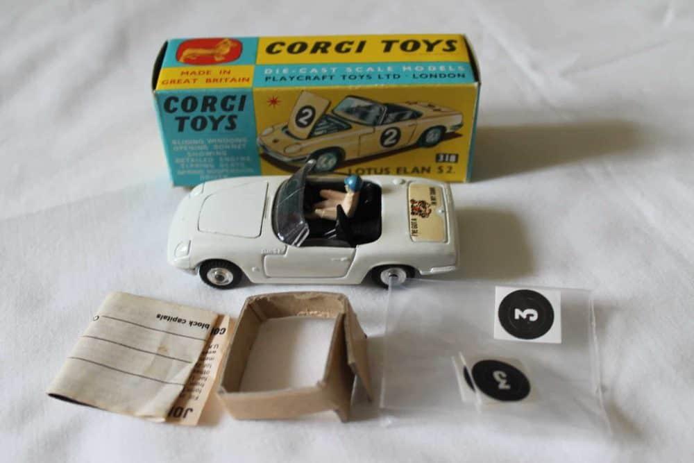 Corgi Toys 318 Lotus Elan S 2