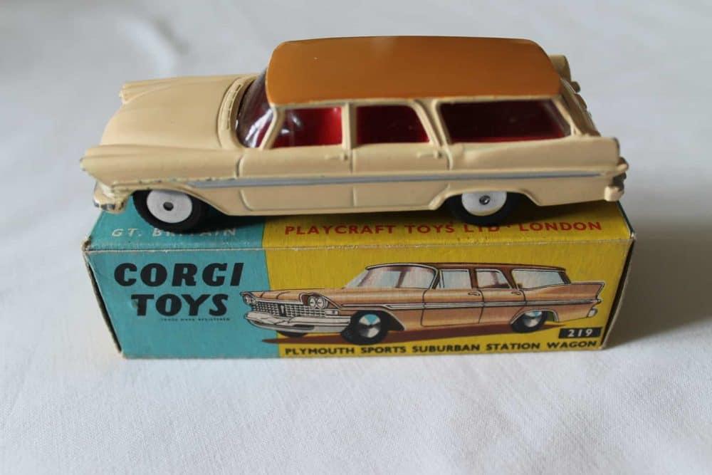 Corgi Toys 219 Plymouth Suburban Station Wagon