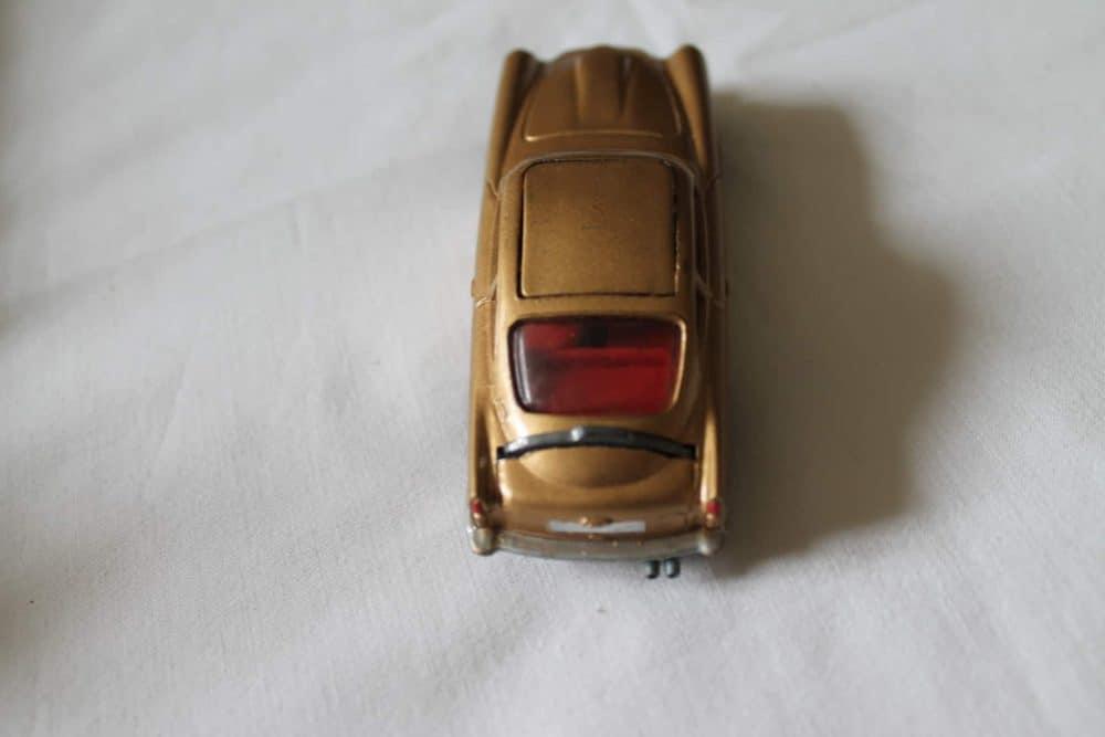 Corgi Toys 261 James Bond Aston Martin D.B.5 1st Issue-back