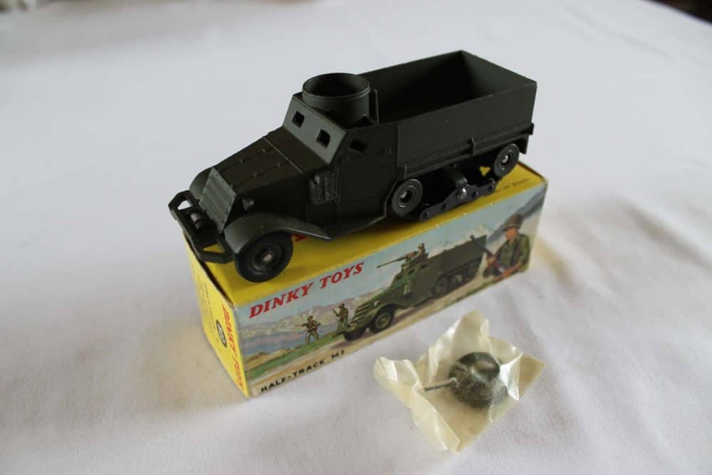 French Dinky Toys 822 Army Half-Track M3