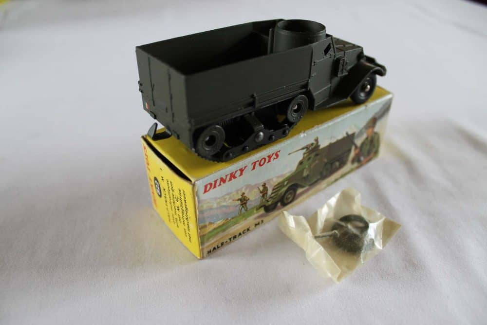 French Dinky Toys 822 Army Half-Track M3-side
