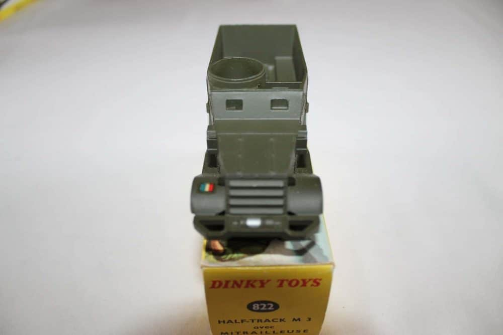 French Dinky Toys 822 Army Half-Track M3-front