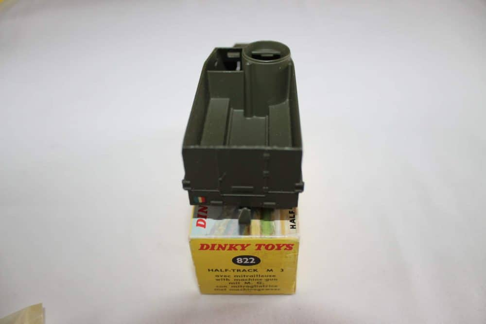 French Dinky Toys 822 Army Half-Track M3-back