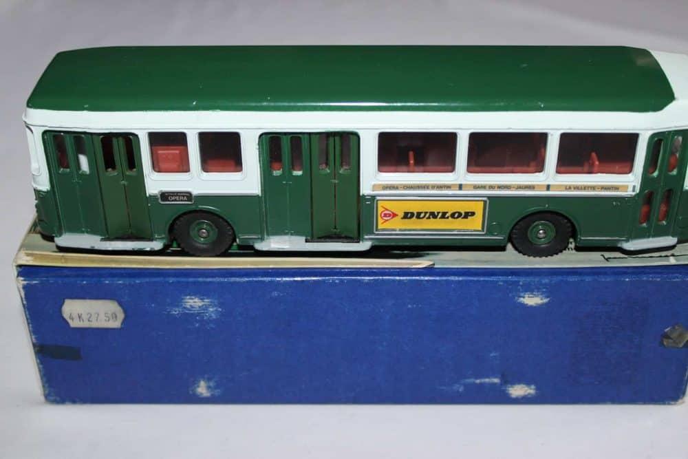 French Dinky Toys 889 Berliet Paris Autobus-side