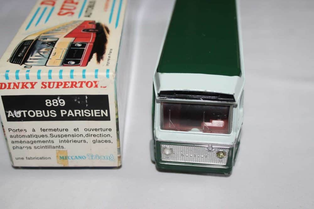 French Dinky Toys 889 Berliet Paris Autobus-front