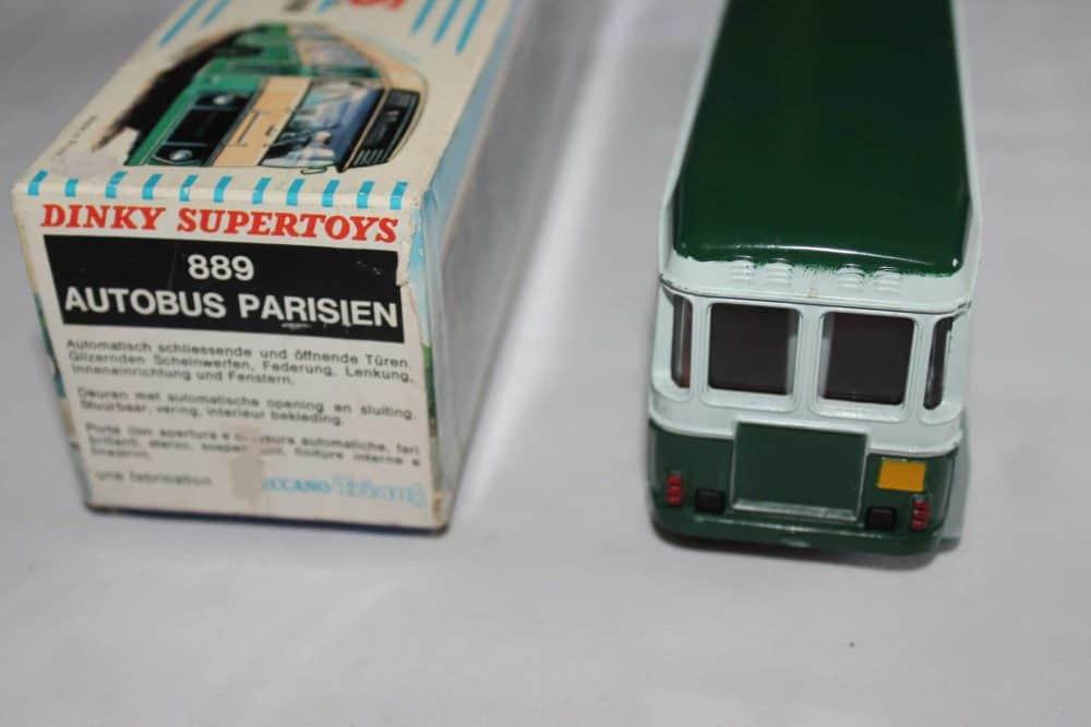 French Dinky Toys 889 Berliet Paris Autobus-back