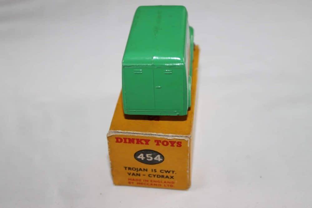 Dinky Toys 454 Trojan 'Cydrax' Van-back