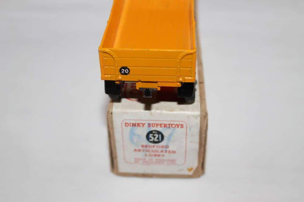 Dinky Toys 521 Bedford Articulated Lorry-back