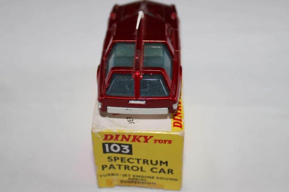 Dinky Toys 103 Spectrum Patrol Car-back