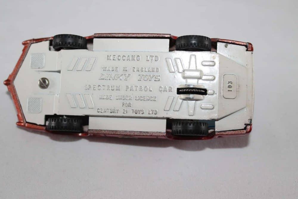 Dinky Toys 103 Spectrum Patrol Car-base