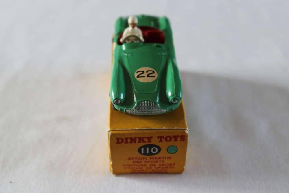 Dinky Toys 110 Aston Martin DB3 Sports-front
