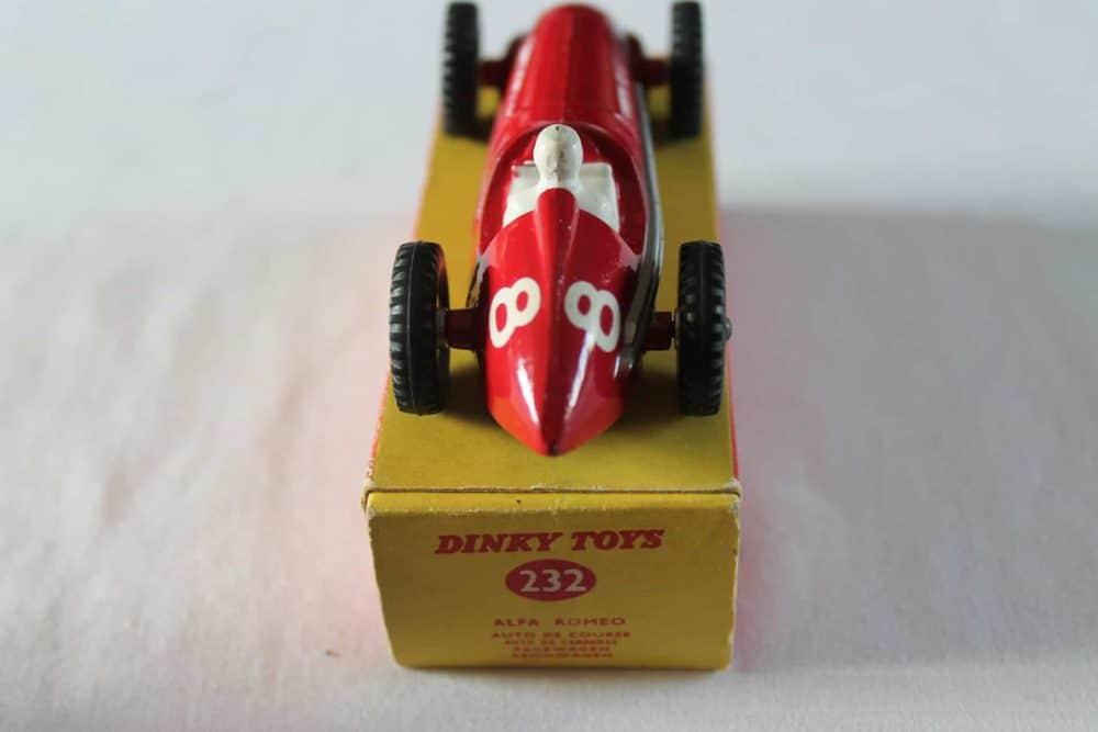 Dinky Toys 232 Alfa Romeo-back