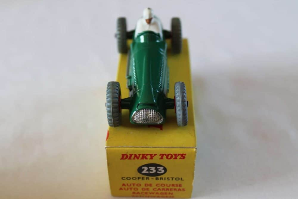 Dinky Toys 233 Cooper Bristol Racing Car-front