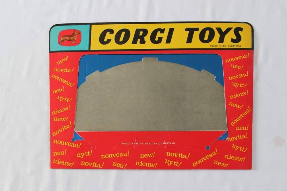 Corgi Toys Counter Display Stage