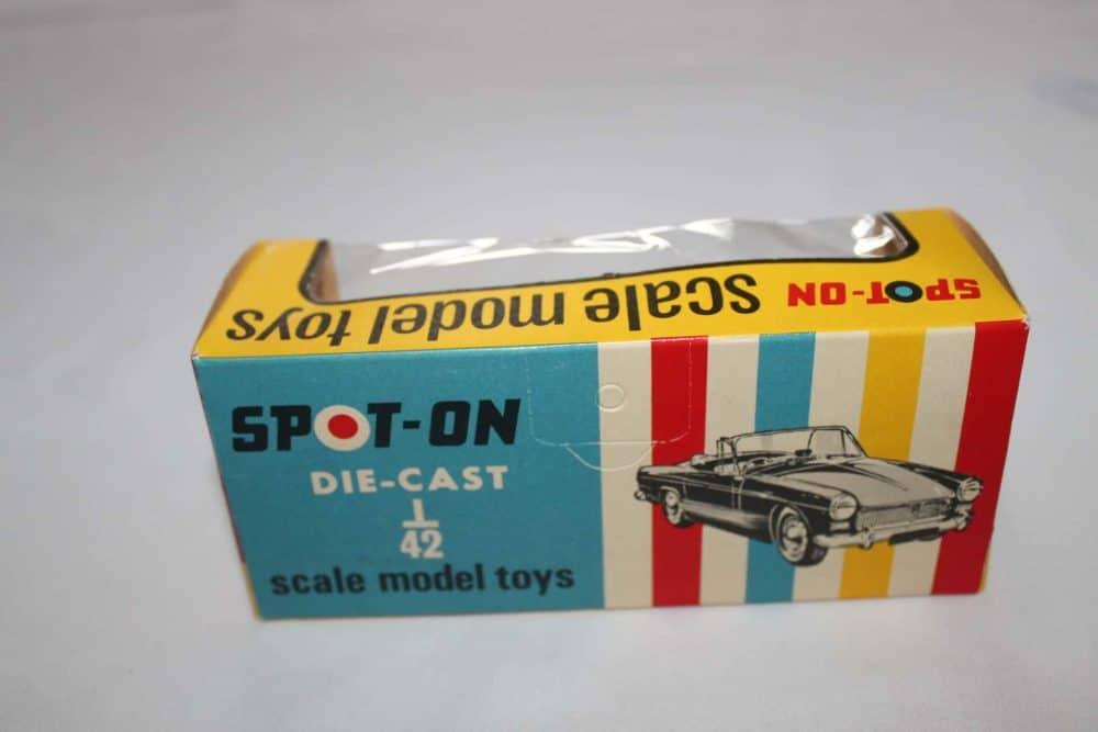 Spot-On Toys N102 Austin Healey Sprite New Zealand Issue-box