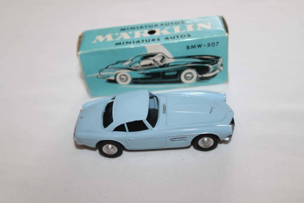 Marklin Toys 8022 BMW-507-side