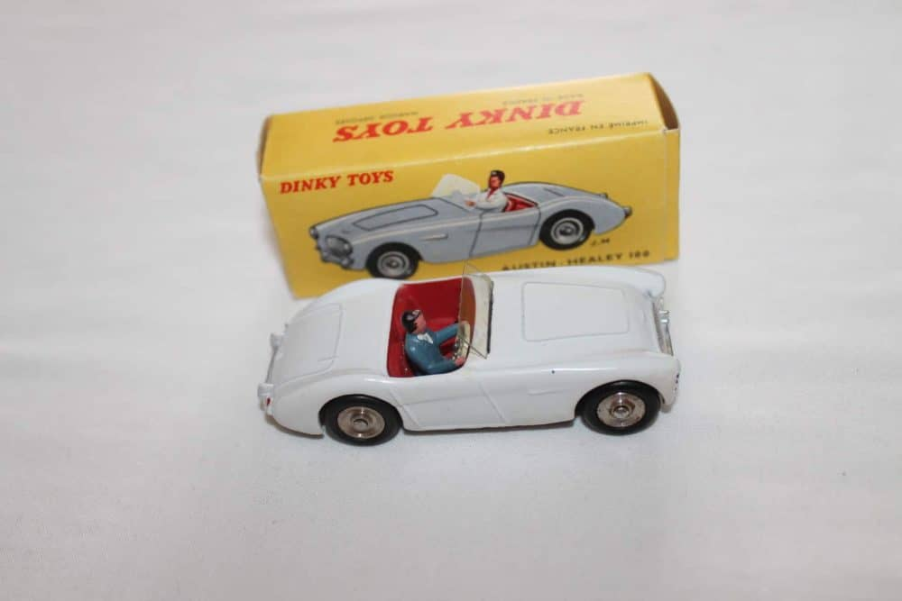 French Dinky Toys 546 Austin Healey 100-side