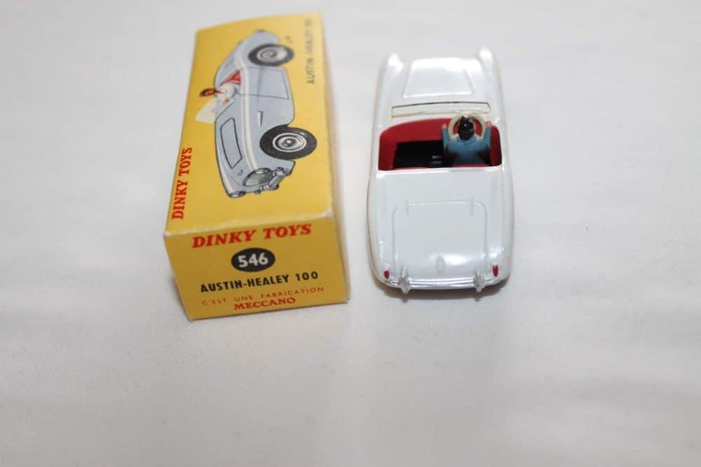 French Dinky Toys 546 Austin Healey 100-back