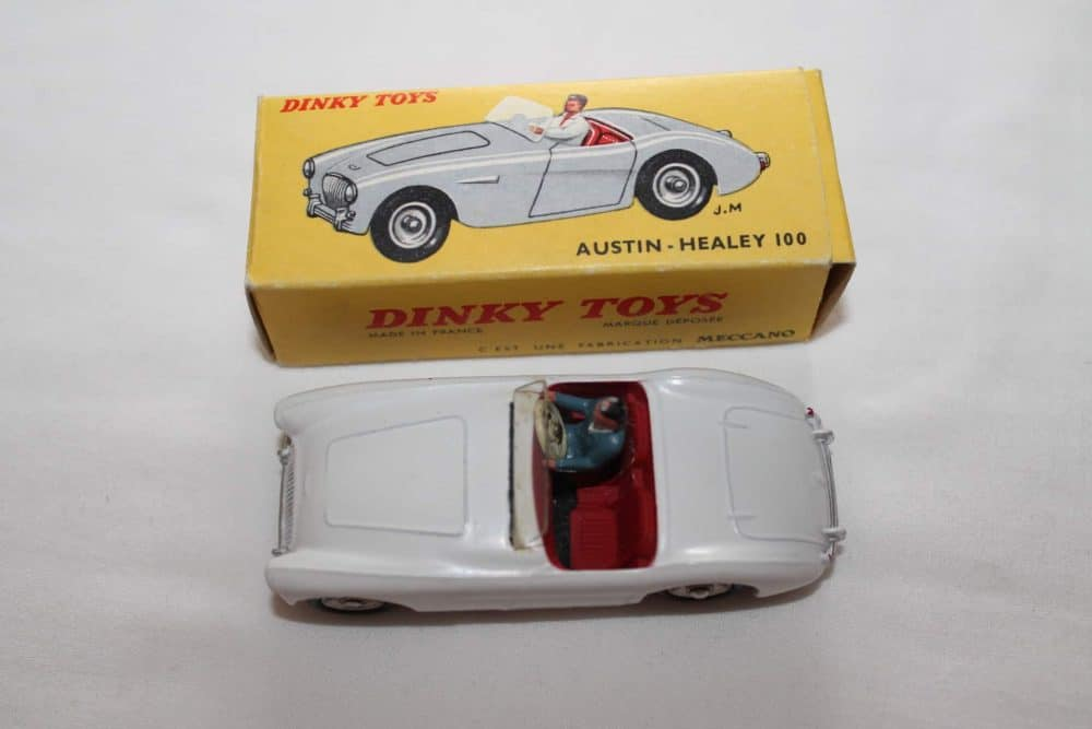 French Dinky Toys 546 Austin Healey 100-top