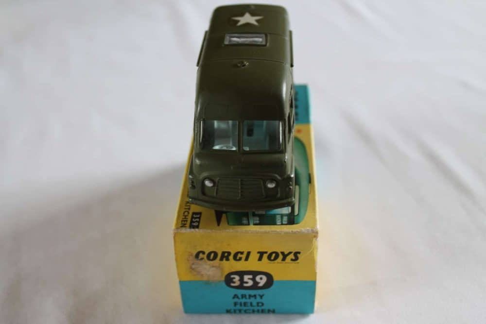 Corgi Toys 359 Army Field Kitchen-front