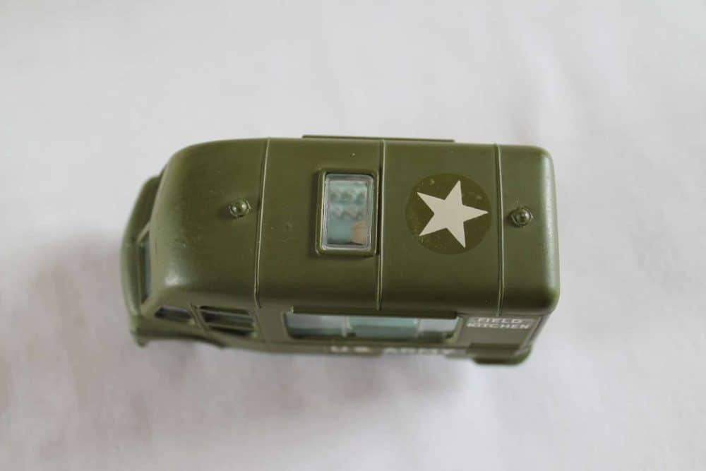 Corgi Toys 359 Army Field Kitchen-top