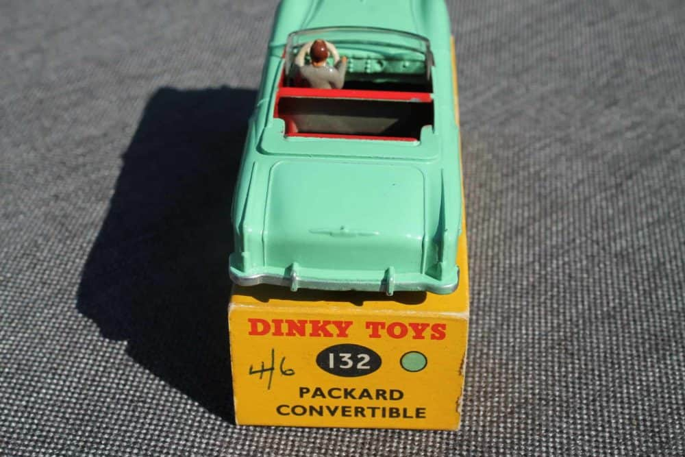 Dinky Toys 132 Packard Convertible-back
