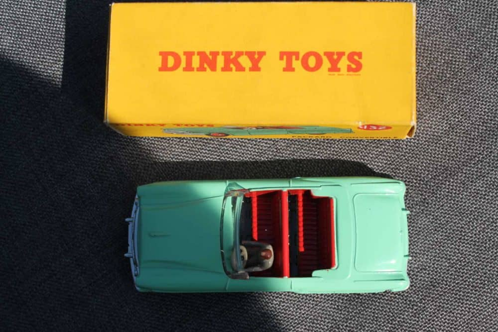 Dinky Toys 132 Packard Convertible-top