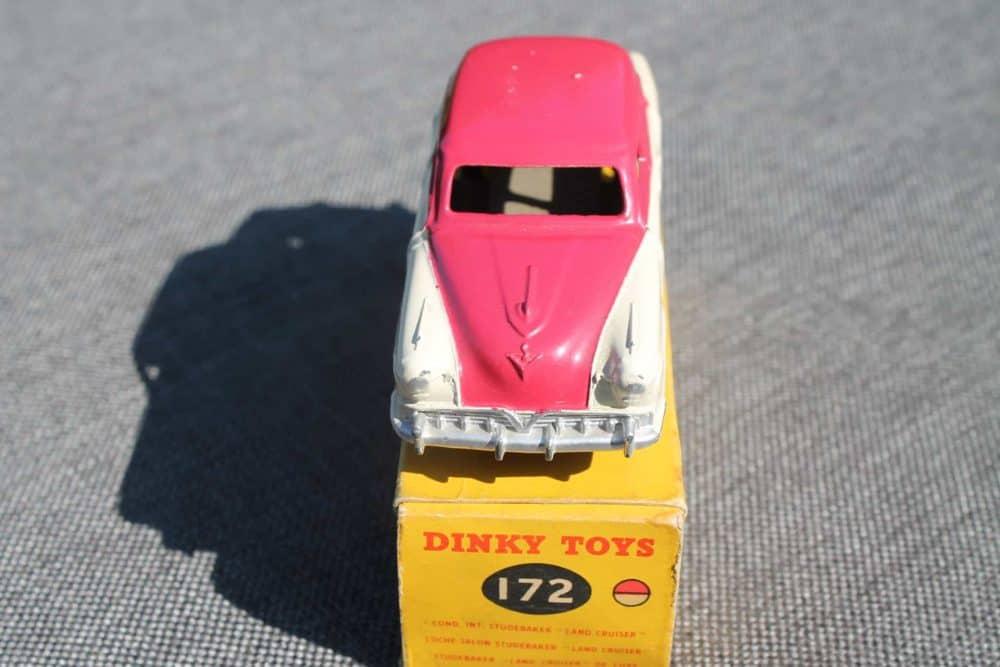 Dinky Toys 172 Studebaker Land Cruiser Highline Rare-front