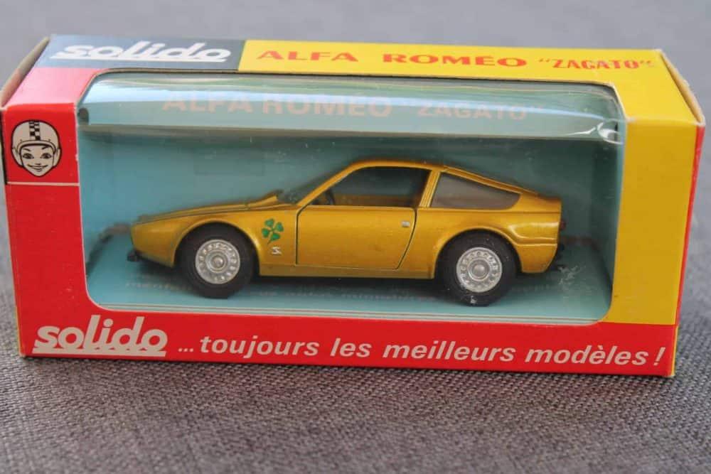 Solido Toys 183 Alfa Romeo Zagato