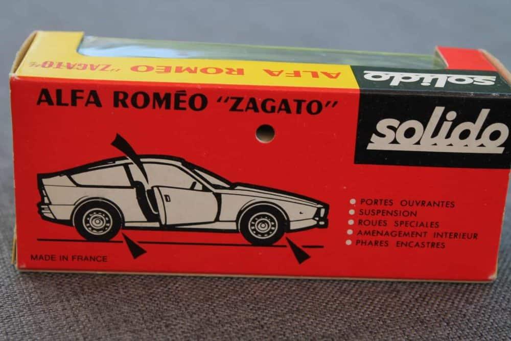 Solido Toys 183 Alfa Romeo Zagoto-boxback