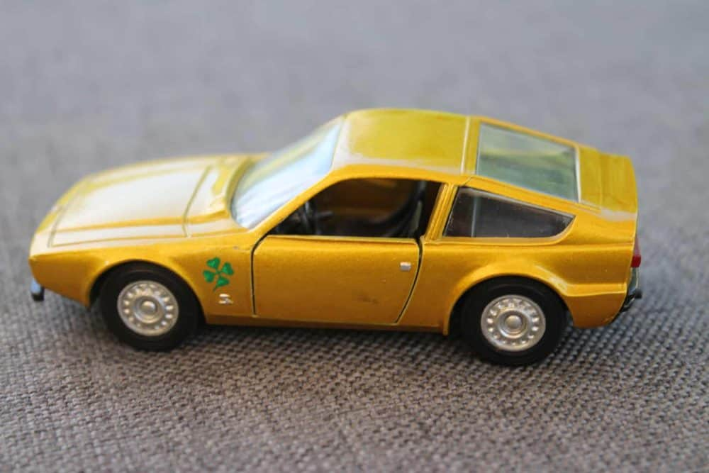 Solido Toys 183 Alfa Romeo Zagoto-leftside